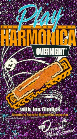 Play Blues and Country Harmonica Overnight [VHS]