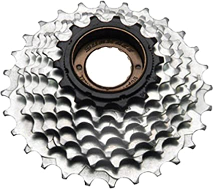 MFR30 Freewheels SunRace 7 Speed Chrome Bicycle Freewheel