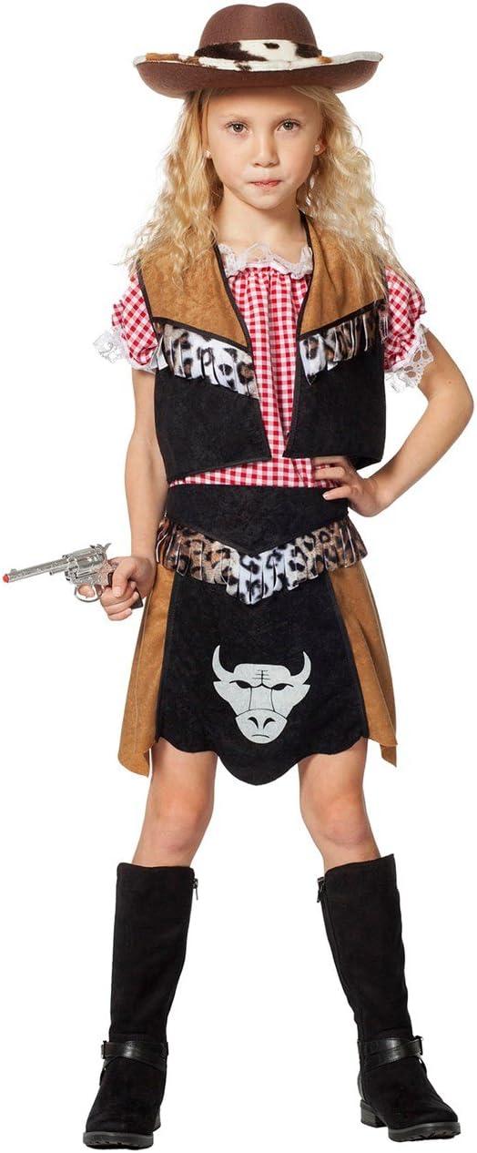 The Fantasy Tailors Disfraz de Vaquero para niña, Camiseta ...