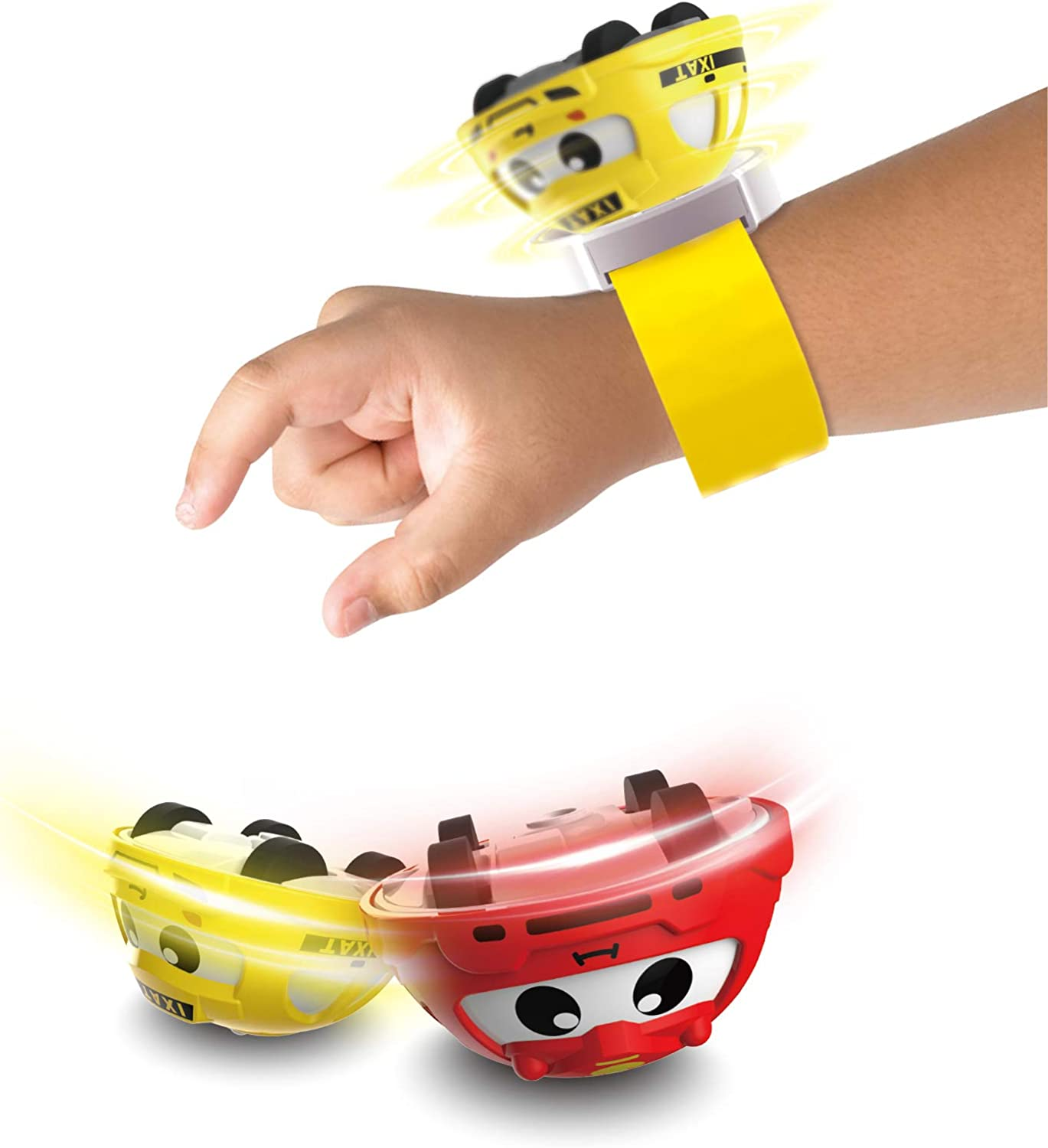 Saskhio Gift Kids Watch Toys for 3-9 Year Old Boys Girls ,Gyro Toys for Kids, Holiday Birthday Festival Gifts for Kids Age 3+( 12 Colors are Random)