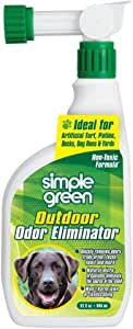 Simple Green Outdoor Odor Eliminator Hose End Sprayer for Pets, 32-Ounce