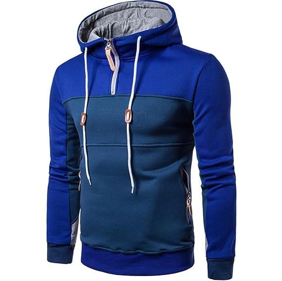 ♚Btruely Herren Hombres Sudadera con Capucha Invierno Delgado Calentar Abrigo para Hombre Chaqueta Casual Camisetas: Amazon.es: Ropa y accesorios
