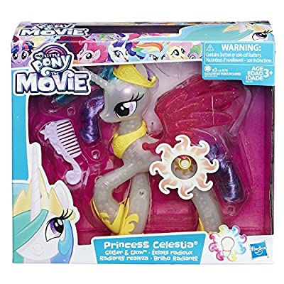 My Little Pony the Movie Glitter and Glow Princess Celestia: Hasbro: Toys & Games
