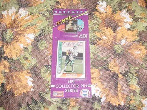 Manning Mvp Eli - MVP 81993 THURMAN THOMAS NFL COLLECTOR PIN and CARD