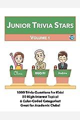 Junior Trivia Stars: Volume 1 Paperback