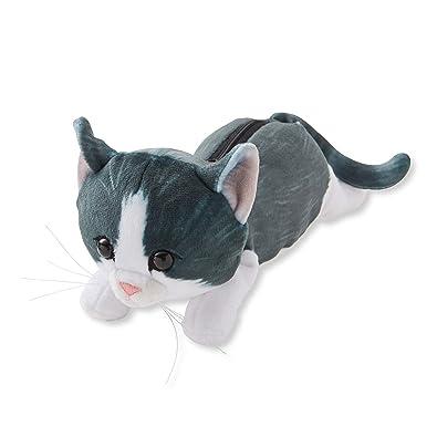 480d0785e5429 Amazon.com: NEKOBU Dreamy Fluffy Cat Pouch - Black And White: Shoes