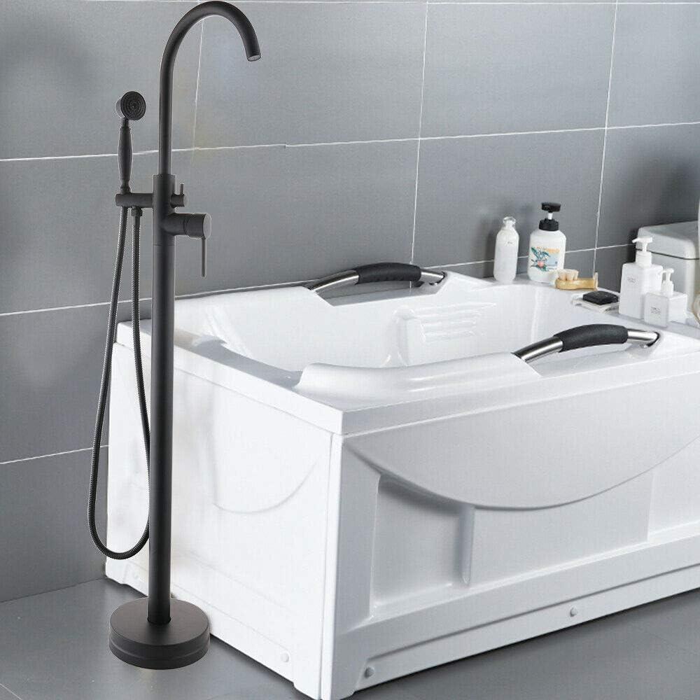 SENDERPICK – Grifo de bañera independiente, ducha de pie + ...