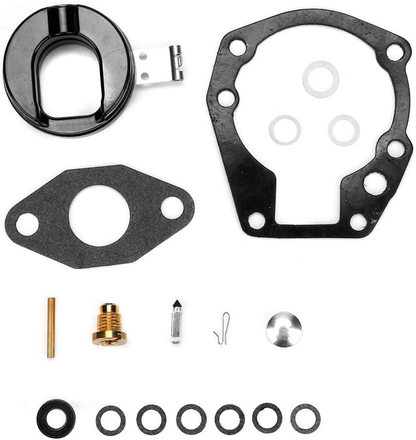 Carburetor Repair Kit,Akozon Carburetor Carb Repair Rebuild Kit Fit for Johnson Evinrude 1.5hp 2hp 3hp 4hp