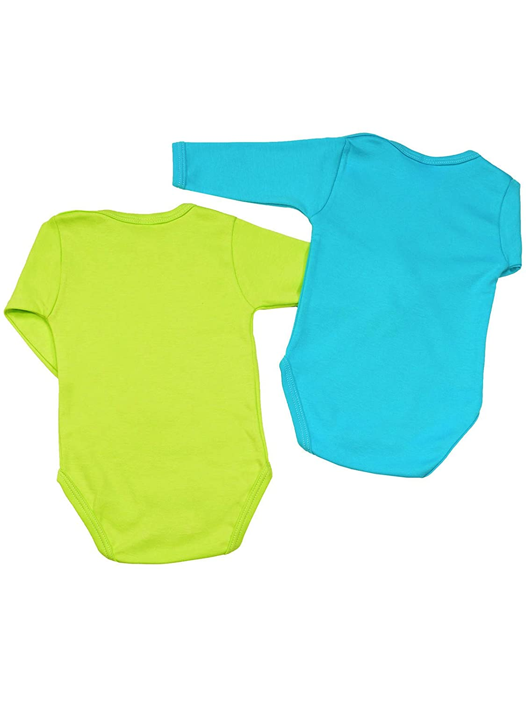 Klekle Baby Jungen Langarm Body 22797 2er Set