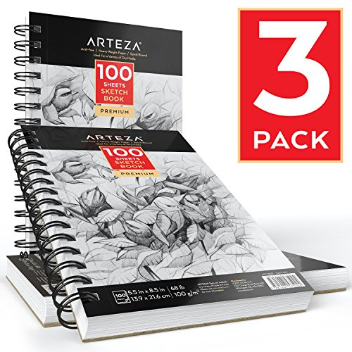 Arteza Sketch & Drawing Pads
