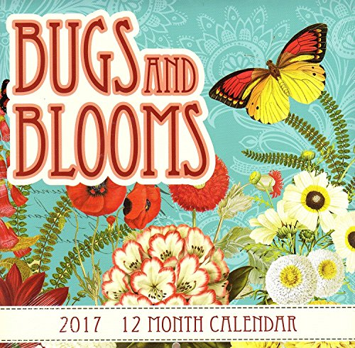 bugs-and-blooms-2017-12-month-wall-calendar-flowers-insects-butterflies-home-or-office