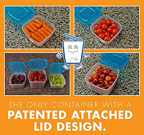 Mr Lid 10 Piece Storage Containers Set With Attached Lids By Unknown