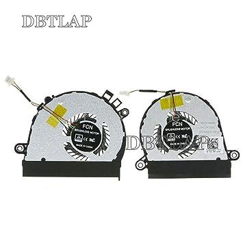DBTLAP Ventiladores de CPU de enfriamiento Ventilador ...