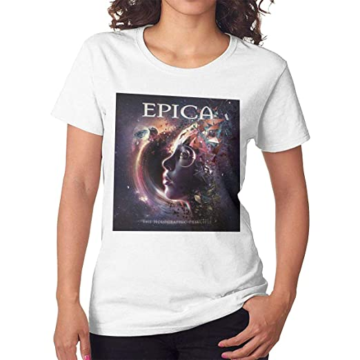 Herrenmode The Holographic Principle T-shirt Epica