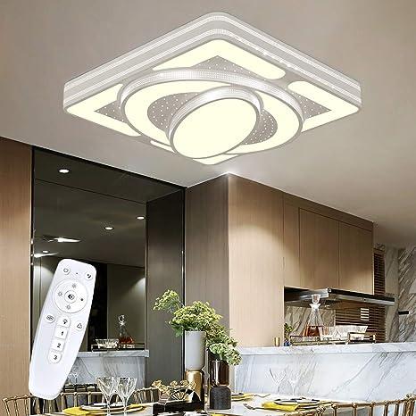 DesIgn Deckenlampe 54W 64W 88W LED Deckenleuchte Wandlicht Wohnzimmer Spacecraft