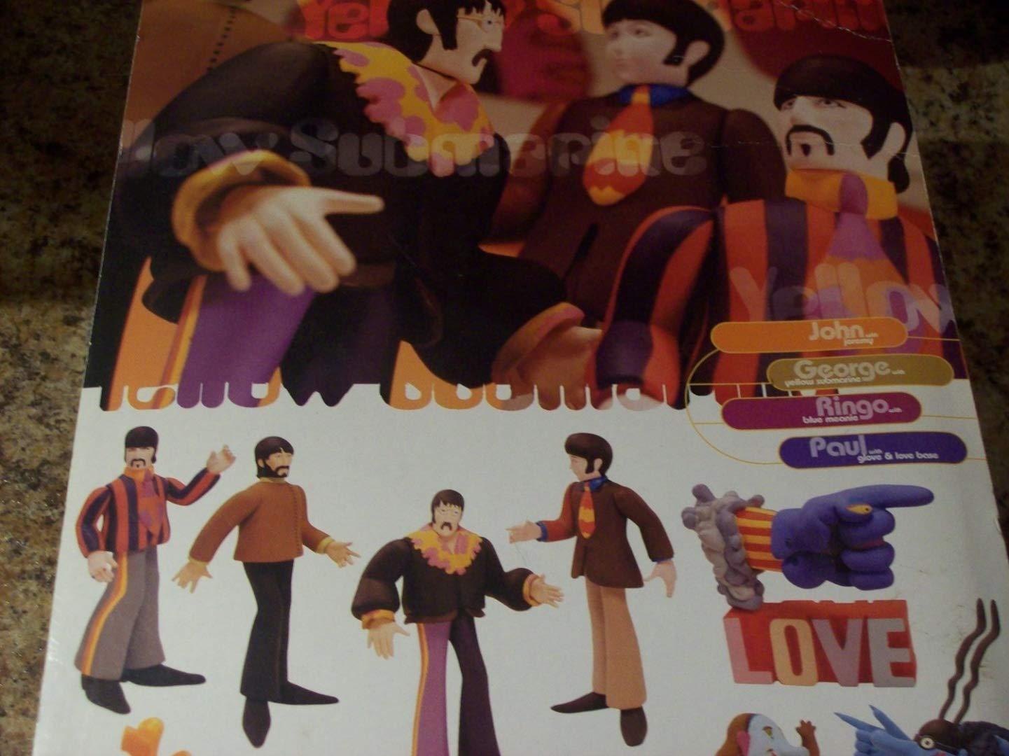 El Submarino Amarillo de The Beatles George Harrison Harrison Harrison figura de accioacute;n con submarino amarillo juguete por McFarlane Toys 797cd3