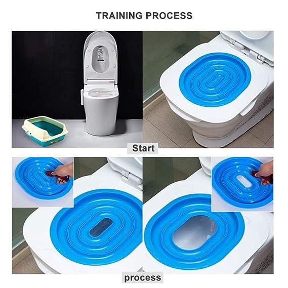Amazon.com: Kit de entrenamiento de inodoro para gatos, paso ...