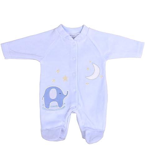 b6246c806491 Amazon.com  BabyPrem Preemie Tiny Footie Baby Boy Girl Pink Blue ...