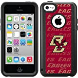 Coveroo Commuter Series Cell Phone Case For iphone 5c  - Retail Packaging - Boston College - Repeating design