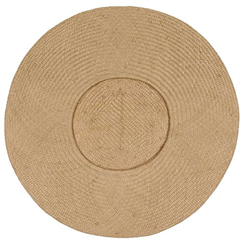 Mujer Hat Sombrero Seeberger De Natural Collapsible Plegable Sisal qXtEEwcC