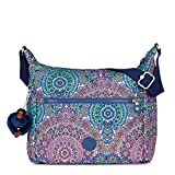 Kipling Women's Alenya Printed Crossbody Bag One Size Sunshine Happy Purple