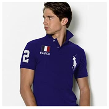 Polo Ralph France Wh Blue Size Fit Slim Lauren Custom Flag s thQrds