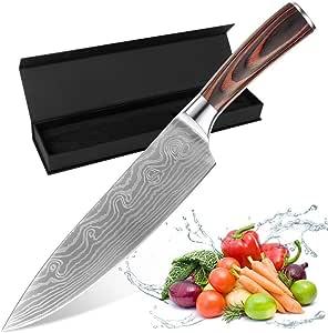 Compra TTMOW Cuchillo Chef Profesional Acero Inoxidable de