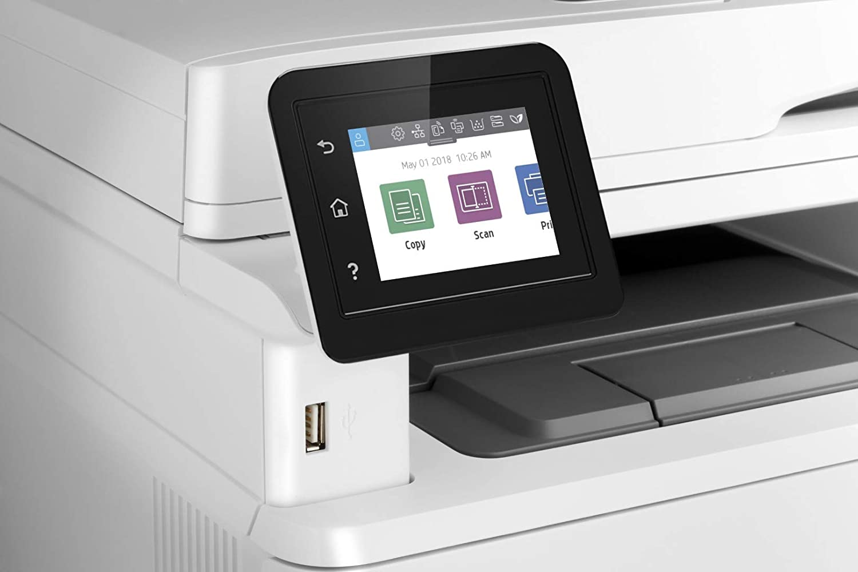 HP LaserJet Pro MFP M428dw Impresora Láser Multifunción Monocromo (A4, hasta 38 ppm, de 750 a 4000 Páginas al Mes, 1 USB 2.0, 1 USB Host; 1 Red ...
