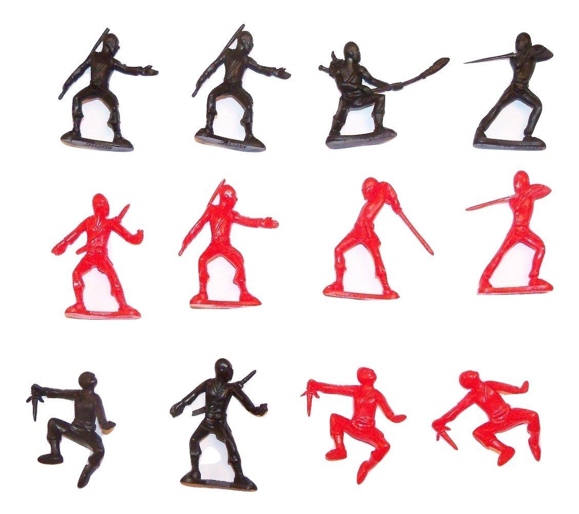 Amazon.com: Ninja Action Figure 12 Pack ~ Set of 10 Unique ...