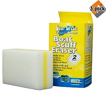 Amazon.com: Starbrite Barco Scuff Borrador 2-Pak 41000 ...