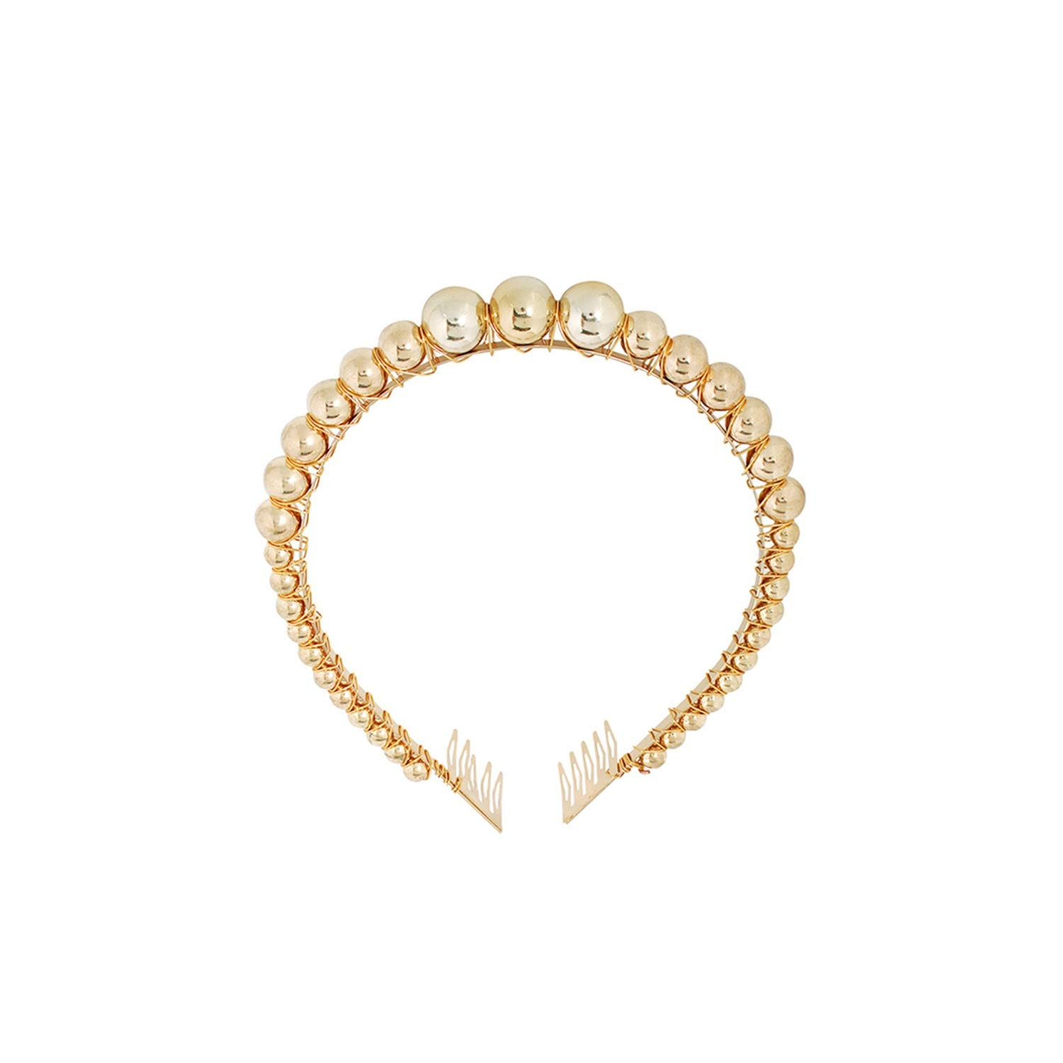 New Big Pearl Headband For Women Wild Personality Trend Hairband Party Pearl Girls Hair Accessories,91-B