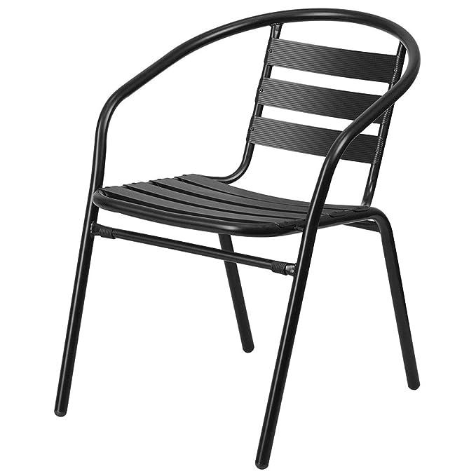 Amazon.com: KLS14 - Silla apilable de diseño moderno, de ...