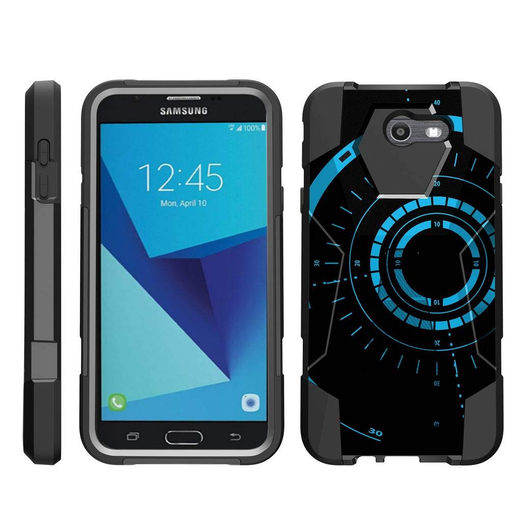 big sale b3431 d3fa1 TurtleArmor | Compatible for Samsung Galaxy J7 2017 Case | J7 Prime | J7  Sky Pro [Dynamic Shell] Duo Protection Hybrid Case Impact Rubber Cover Hard  ...