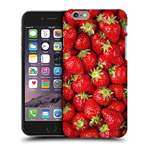 Case Fun Strawberries Snap-on Hard Back Case Cover for Apple iPhone 6 Plus (5.5 inch)