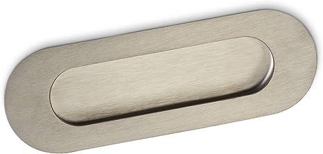 10 x SO-TECH® Tirador para Muebles EL-09 Acero Fino Cepillado/Puerta Corredera/Tirador empotrado: Amazon.es: Bricolaje y herramientas
