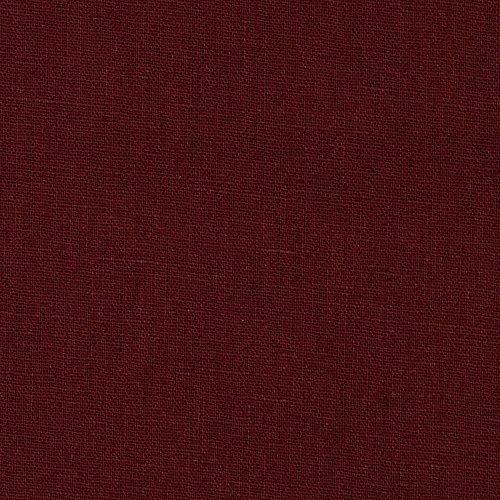 Robert Kaufman Kaufman Essex Linen Blend Bordeaux Fabric by The Yard, Autumn Red (La Bordeaux Blend)