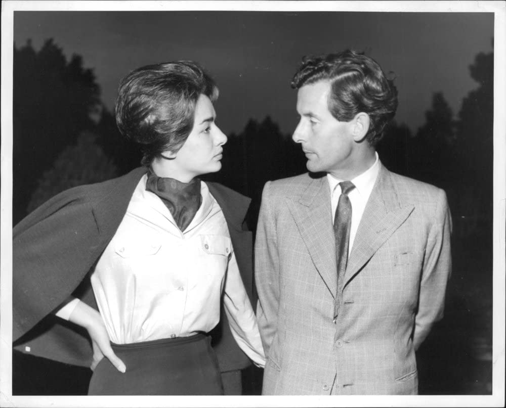 Amazon Com Vintage Photo Of Peter Townsend Talking To Marie Luce