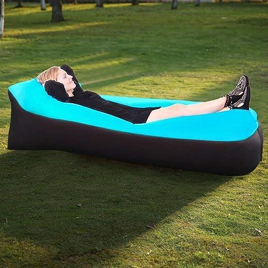 Sofa Hinchable Playa Tumbona Inflable del Aire del Ocioso de Playa ...