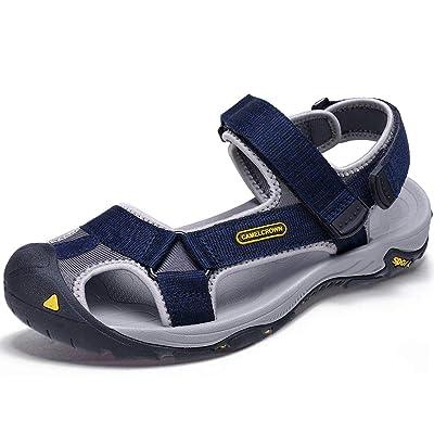 CAMEL Sport Sandals for Men Strap Athletic Shoes WaterproofHiking Sandals for Walking Beach Outdoor Summer   Sport Sandals & Slides