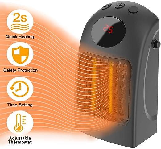 Mini calentador de ventilador eléctrico portátil, calentador de ...