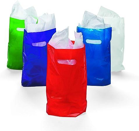 Amazon.com: Bolsas de plástico de colores surtidas ...