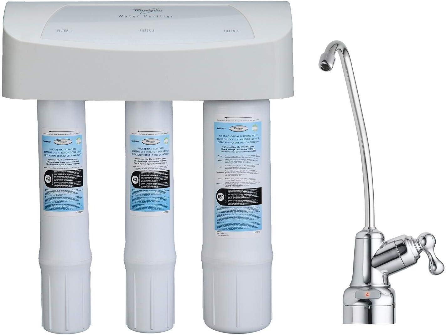 Whirlpool whembf purificador de agua filtros de repuesto (Compatible con los sistemas whambs5 & whemb40): Amazon.es: Bricolaje y herramientas