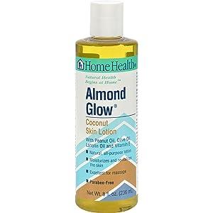 Home Health Almond Glow Ltn Coconut 8 Fz