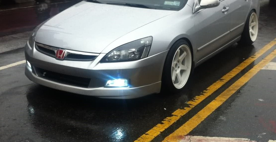 Amazon.com: Honda Accord 2006 2007 Sedan Foglight Set JDM Japan Style Full  Kit Direct Fit 4door Only: Automotive