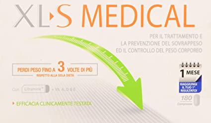 Amazon Com Liposinol Product For The Treatment Of Overweight 1 Months 180 Tablets By Xls Medical Health Personal Care