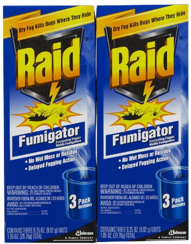 Raid Fumigator Triple - 3 ct - 2 pk