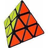LSMY Pyraminx 3x3 Puzzle Cube Toy Black