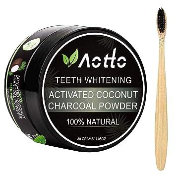 Amazon.com: Blanqueador de dientes de carbón activado ...