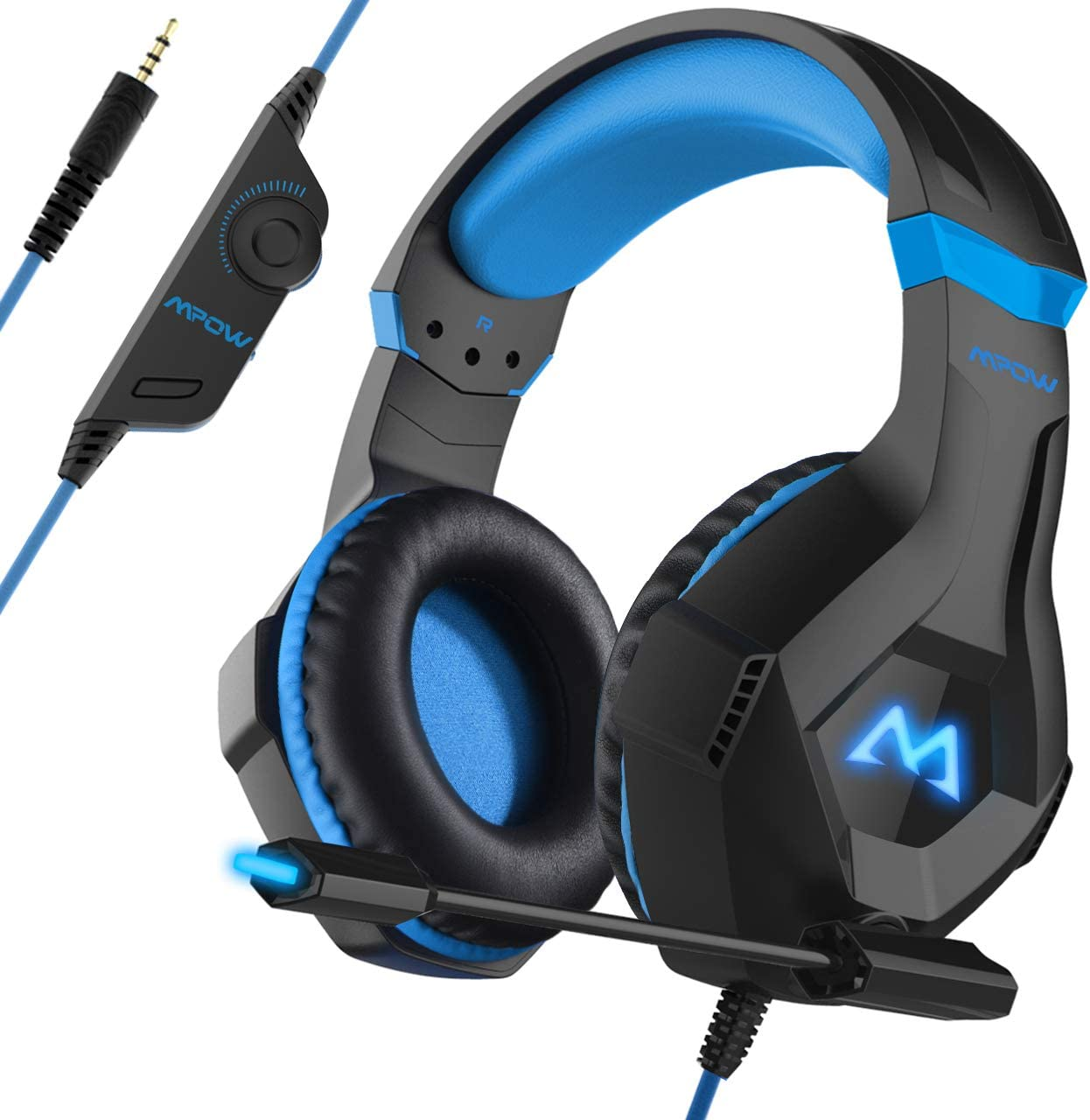 Mpow Wired Gaming Headset 3D Surround