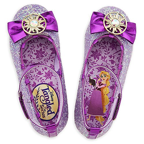 Disney Rapunzel Costume Shoes for Kids - Tangled: The Series Size 7/8 TODLR Purple - http://coolthings.us